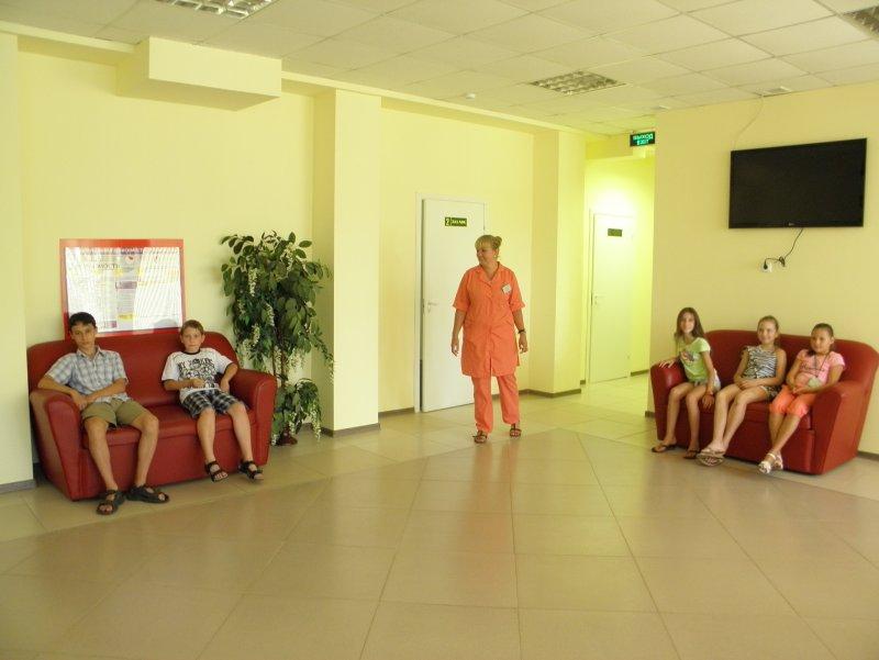 Центр здоровья для детей. Холл