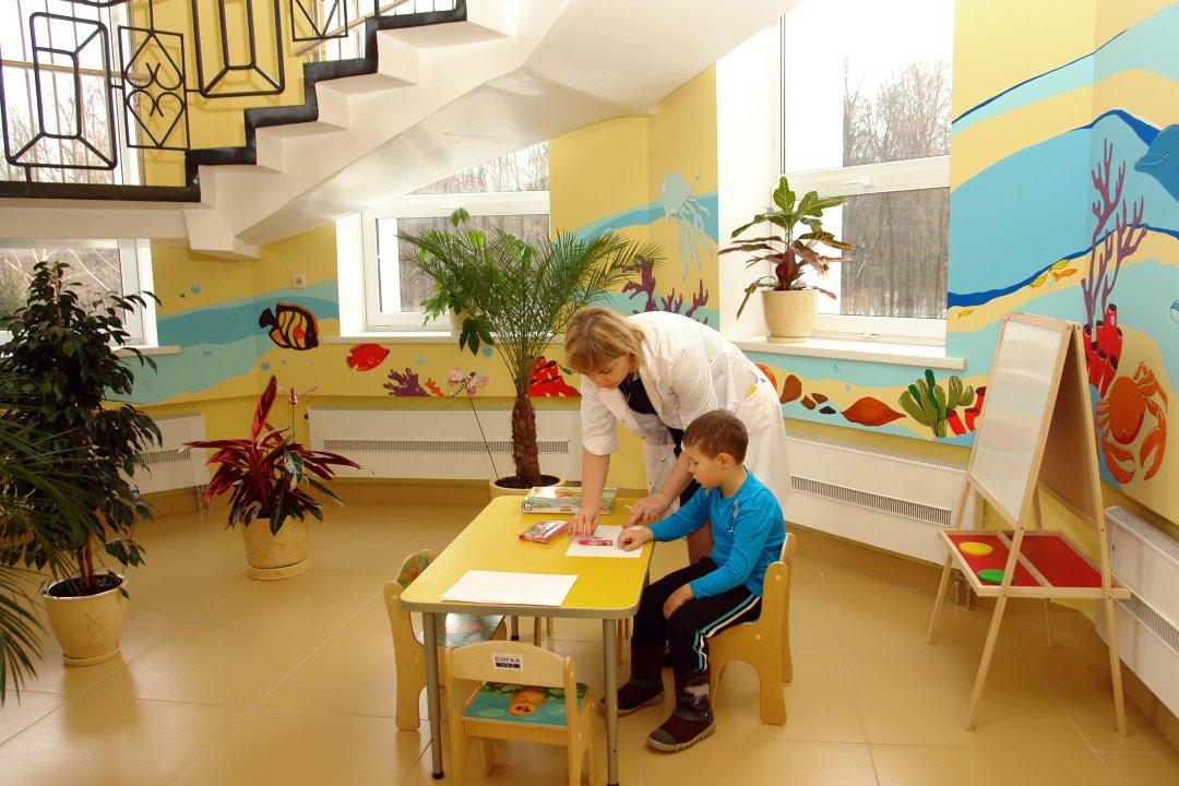 Игровой уголок детской поликлиники на ул.Ломоносова